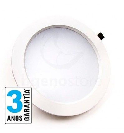 Downlight LED de 24w, con chip Samsung, y FP 0.95