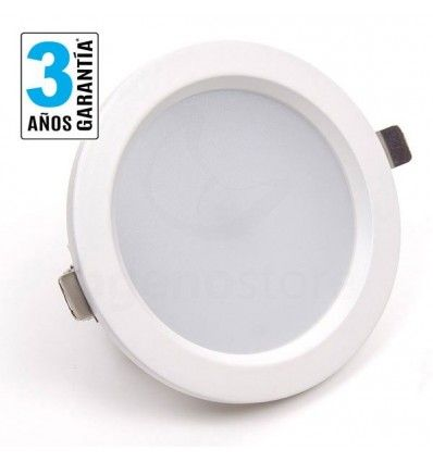 Downlight de 12w, con chip Samsung, y FP 0.95