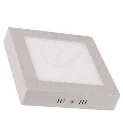 Downlight de Superficie 18w, cuadrado 1.500 lúmenes